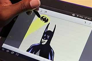 batman drawimg
