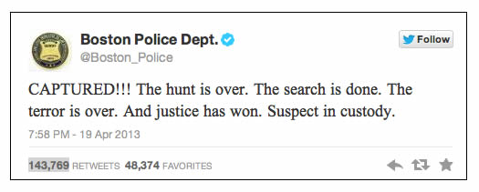 boston police tweet