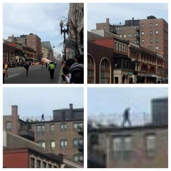 guy on roof